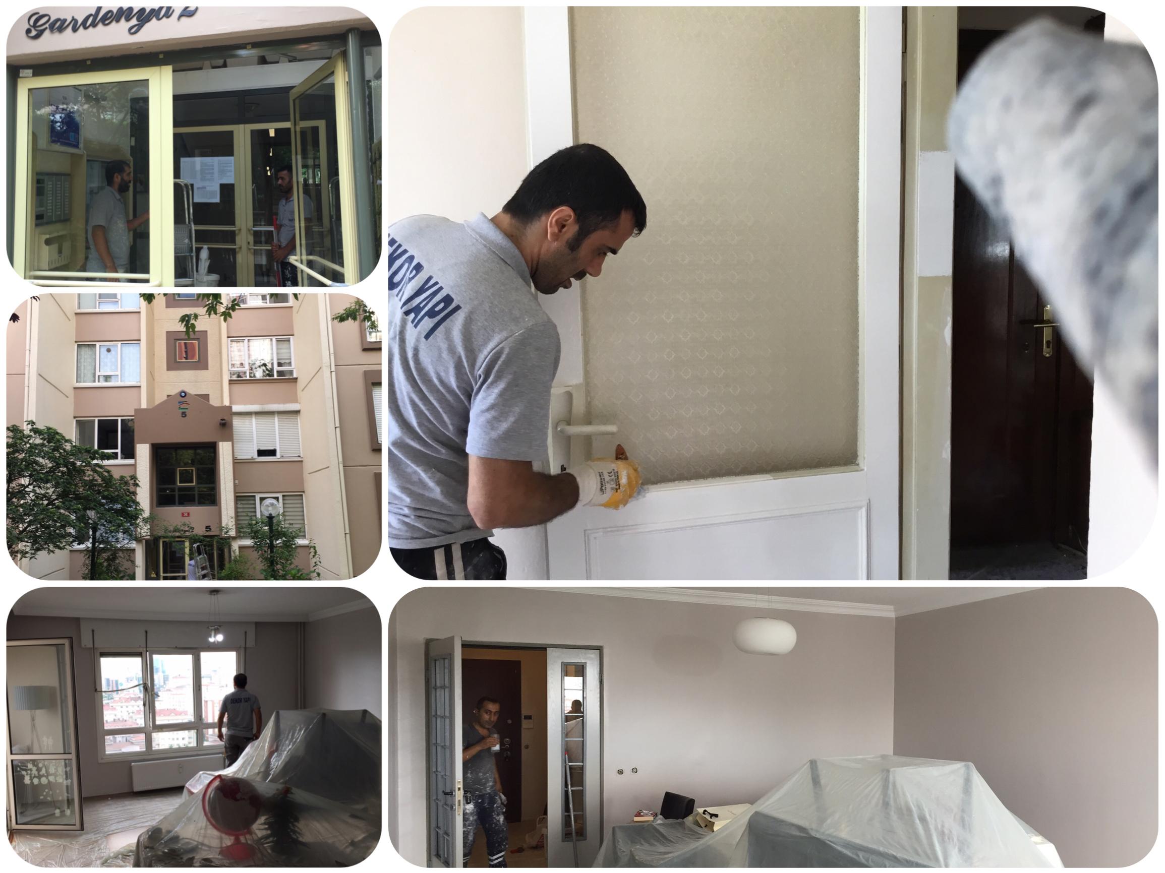 Ataşehir'de En iyi kalitede boya ekibi